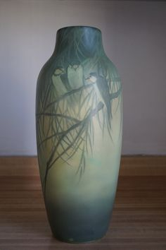 Rookwood Pottery Vellum Glaze Vase, ca. 1930, Kataro Shirayamadani