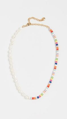 Fall jewelry trends - Pearl and Multi Beads Necklace – Fall jewelry trends Fall Jewelry, Wire Jewelry, Beaded Jewelry, Jewelery, Jewelry Accessories, Handmade Jewelry, Jewelry Design, Beaded Bracelets, Handmade Necklaces