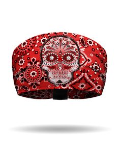 Genuine Harley Davidson Ladies Women/'s Paisley Skull Scrunchie Headband HE02330