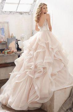 Courtesy of Morilee Wedding Dresses by Madeline Gardner; Wedding dress idea.