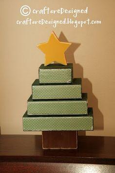 Christmas tree  2 x 4 pieces