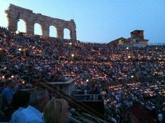 Verona Opera - an opportunity to see opera's such as Romeo & Juliet, in the ancient Roman Colosseum of Verona.