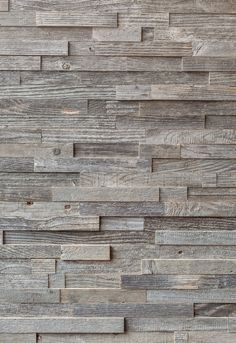 Reclaimed Silver Pine Cladding Panels - The New & Reclaimed Flooring CompanyThe New & Reclaimed Flooring Company Cladding Panels, Wall Cladding, Wood Mosaic, Mosaic Wall, Stone Cladding Texture, Wooden Cladding, Flooring Companies, Small Space Design, Pallet Designs
