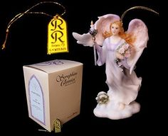 VoojoStore Roman Seraphim Angel Ornament Gina - Unique Gift For Birthday Christmas Wedding Anniversary Engagement Graduation Couples Men Women Mom Dad Grandpa Sister Wife Husband Friends Unique Christmas Trees, Christmas Wedding, Christmas Tree Ornaments, Christmas Decorations, Seraph Angel, Personalized Gift Cards, Angel Statues, Angel Ornaments, Online Gifts