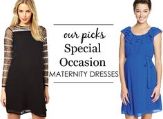 {Project Nursery Picks: Special Occasion Maternity Dresses} #maternity #style