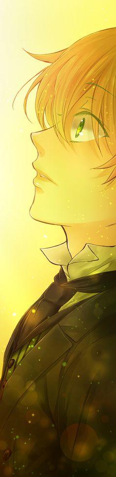 "Pandora Hearts. Ray of Hope by ShionMion on deviantART lll Oz ""B-Rabbit"""