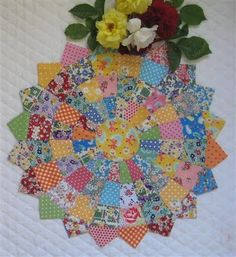 Dresden Plate Tutorial by Lurline's Place ~ It's simpler than you would think ~ Love it!