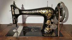 Machine à coudre - Singer - Model 27 - 1904 - Vieux objets - Réminiscence