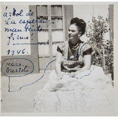 Dedicada a Josep Bartolí Frida firma como Mara Bartolí