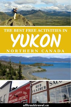Canada's Yukon Territory is an epic travel destination, even for those on a budget. Discover the best free or low cost things to do in Yukon now! Amazing Destinations, Travel Destinations, Backpacking Canada, Yukon Canada, Northern Canada, Yukon Territory, Canada Holiday, America And Canada, Travel