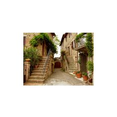 village-in-Tuscany ❤ liked on Polyvore featuring backgrounds, pictures, photos, places and pics