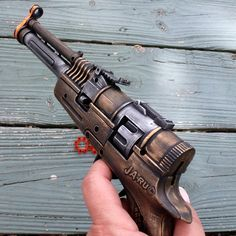 Steampunk Victorian TESLA  coil CAP Gun  VAMPIRE  killer pirate pistol flintlock on Etsy, $14.99