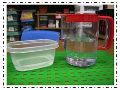 First Grade Fanatics: matter: solid, liquid, gas simple experiment