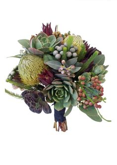 SUCCULENT AND NATIVE BOUQUET