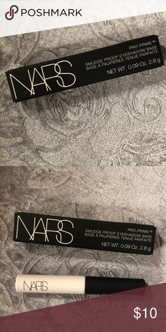 NARS pro-prime smudge proof eyeshadow base NARS pro-prime smudge proof eyeshadow base net wt. 0.09 oz. 2.8 g NARS Makeup Eye Primer