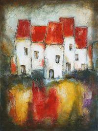 Canadian Artist - Nebojsa Jovanovic - Directory of Artists from Canada Watercolor Art Landscape, Watercolor Paintings, Art Graf, Artec, Acrylic Painting Inspiration, Africa Art, Happy Art, Diy Canvas Art, Naive Art