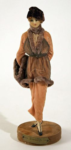 Doll  Lafitte Desirat (French)  Date: 1909–14 Culture: French Medium: wax Dimensions: [no dimensions available] Credit Line: Gift of Mrs. Walter R. Lehmann in memory of Mr. Walter R. Lehman, 1972 Accession Number: 1972.151.11