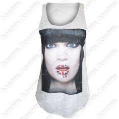 LADIES WOMENS BOB MARLEY JESSIE J #PRINT SLEEVELESS #VEST TOPS ONE LOVE #TSHIRT #TOP | eBay #shopping #fashion