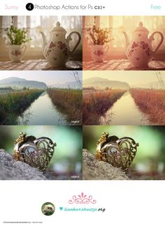 20 Great Free PhotoShop Actions
