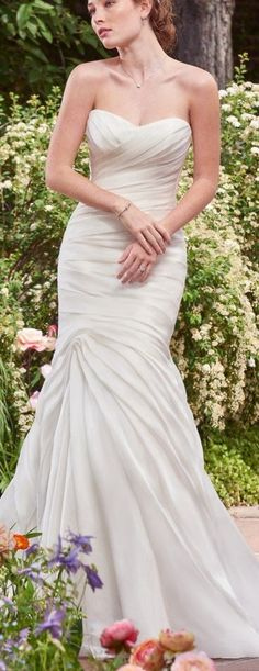 6 Best Wedding Dresses for a Rustic Wedding - Persephone wedding dress by Rebecca Ingram