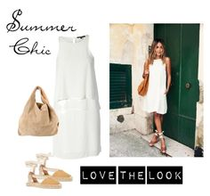 """Summer Chic"" by bluehydrangea ❤ liked on Polyvore featuring TIBI, Barneys New York and Alexander Wang"