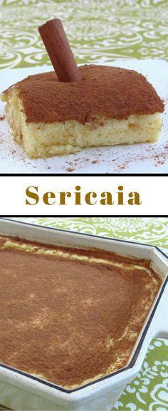 Sericaia | Food From Portugal. A sericaia é um doce típico português
