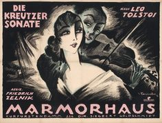 I love silent movie posters from around the world.