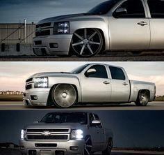 Silverado Crew Cab, 2013 Chevy Silverado, Bagged Trucks, Dodge Trucks, Dropped Trucks, Custom Chevy Trucks, Low Life, Cadillac, Badass