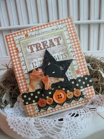 Charmingly festive, wonderfully pretty Halloween bingo calling card and button… Halloween Bingo, Halloween Paper Crafts, Halloween Scrapbook, Halloween Cards, Halloween Ideas, Halloween Clothes, Halloween Goodies, Halloween Projects, Costume Halloween