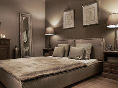 Elegancka sypialnia, kolekcja Oakland Grey  INNE MEBLE -- meble, kanapy tapicerowane, dekoracje, oświetlenie, lampy Bed, Furniture, Home Decor, Homemade Home Decor, Decoration Home, Stream Bed, Room Decor, Home Furniture, Interior Design