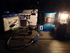 Olicamp Xcelerator Titanium Stove + Olicamp LT Lightweight 1L Combo @ P4600