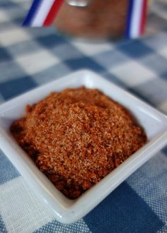 BBQ Seasoning - great on pork or chicken. Also makes a great hostess gift!