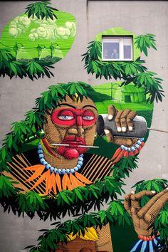 Nunca - Street Art