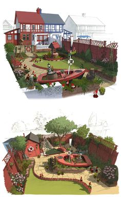 Artes do filme Gnomeo and Juliet, por Colin Stimpson