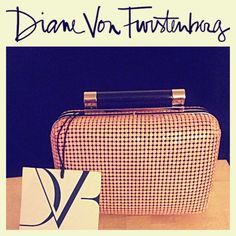 DVF Clutch with detachable over the shoulder strap Diane Von Furstenburg beaded clutch with a sleek detachable shoulder strap. Apricot color is a peach / pink color. See description in third photo for more details. Price drop. Diane von Furstenberg Bags Clutches & Wristlets