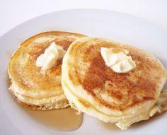 Banana Pancakes1 egg 1 large banana (mashed) add egg & mix. Heat & butter pan. cook till golden, flip. Makes 3 small pancakes