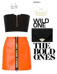 """Untitled #12"" by juliatellstrom on Polyvore featuring Balmain, Heron Preston and MICHAEL Michael Kors"