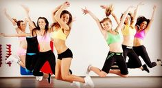 Work out and have fun during Zumba dance-fitness classes that torch calories; Vinyasa yoga boosts flexibility and strength Zumba Fitness, Group Fitness, Health And Fitness Tips, Dance Fitness, Body Fitness, Fitness Goals, Gym Group, Fitness Dvd, Fitness Classes