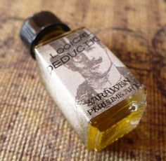 LOGICAL DEDUCTION Perfume Oil - Sherlock Holmes inspired - Vegan on Etsy, $14.00 CAD