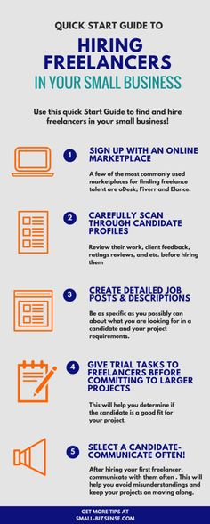 Quick Start Guide to Hiring Freelancers in Your Small Business
