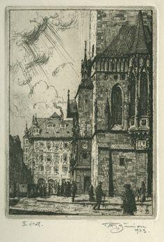 Tavik František Šimon: the Graphics from 1912-1920