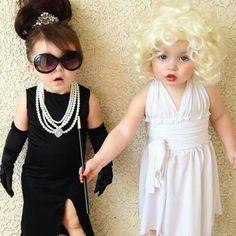 Halloween 2017 Halloween Costume Ideas  sc 1 st  Pinterest & Marilyn Monroe u0026 Aubrey Hepburn Costumes...these are the BEST ...