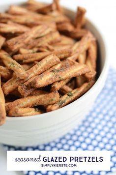 ... kierste seasoned glazed pretzels easy seasoned glazed pretzels
