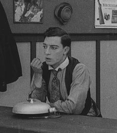 Buster Keaton in The High Sign (1921)