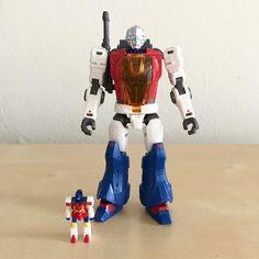 Perfect Effect Robot with Star Pilot #perfecteffect #robot #starpilot #microman #micronauts #micronaughts #diaclone #robotman #biotron #mego #takara #plasticcrack #arashikagedojo