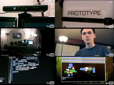 An Xbox Kinect hacked to serve as the centerpiece of a home automation system. Very cool.