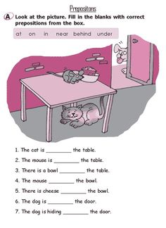 preposition worksheets for class 2 English Grammar For Kids, Teaching English Grammar, English Worksheets For Kids, English Lessons For Kids, Kids English, Grammar Lessons, English Language Learning, Grade 2 English, Writing Lessons