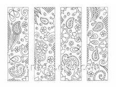 Kết quả hình ảnh cho coloring bookmarks free printable