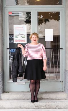 Curvy Outfit Fäschn: Paris, je t'aime mit Tchibo. - Ginger in the Basement