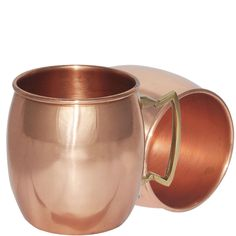 Pure Copper Moscow Mule Mug from India,Set of 2 Mugs: Amazon.co.uk: Kitchen & Home